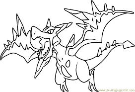 Mega Pokemon Coloring Pages Color Bros