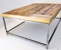 metal industrial furniture. minimalist reclaimed wood coffee table with an industrial metal frame ripley rustic finish furniture