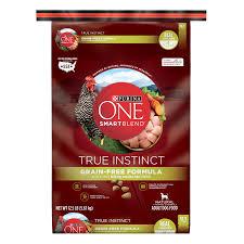 purina one smartblend true instinct natural grain free formula with real en sweet potato dry dog food 12 5 lb bag walmart