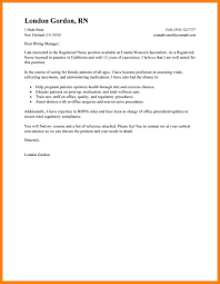 10 Nurse Cover Letter The Stuffedolive Restaurant