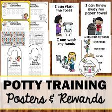 Potty Training Posters Rewards