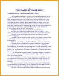Essay Template Autobiographical Example For College Filename