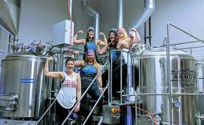 Brewery females make Woman's Day beer | wzzm13.com