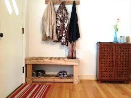 foyer coat rack bench plans storage with cherry restoration hardware  entryway hook racks . foyer coat rack entry bench ...