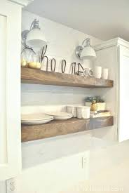 Raw Wood Floating Shelves Classy Floating Wood Kitchen Shelves Raw Wood Shelves F White Floating