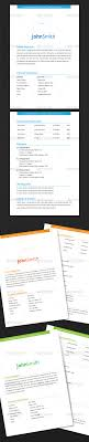 page resume template by arvzone graphicriver 2 page resume template resumes stationery