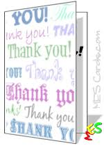 printable thank you card template thank you cards