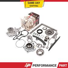 85-95 Toyota 22R 22RE Oil Pump Water Pump Timing Chain Kit w/ 2 ...