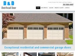 d d garage doorsD  D Overhead Door  Garage Doors  Hanover PA