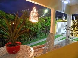 Outdoor And Patio Sparkling Outdoor Hanging Lighting In Cone - Hanging exterior lights