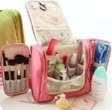 cosmetic bag organizer bag large capacity hanging travel toiletry kit makeup bag