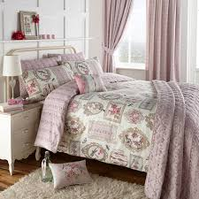 duvet cover set with a beautiful rose and erfly design