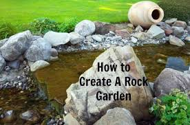 how to create a rock garden stay at