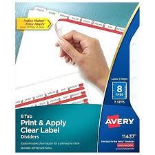 Avery Half Page Labels Erikalaguna