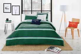 lacoste bedding collection
