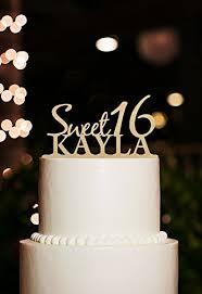 Amazoncom Happy Birthday Cake Topper Personalized Kids Name Sweet