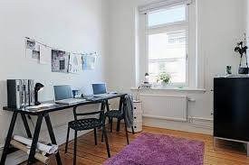 scandinavian home office. 30 scandinavian home desks that encourage work creativity top apartment office 588x391