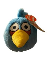 Angry Birds Plush 5inch Blue Bird With Sound for sale online