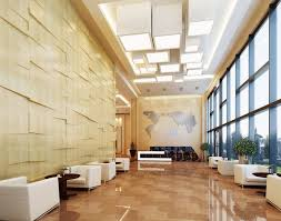 Decorations:Hotel Lobby Design With Maps Wall Art Wallpaper Idea Modern  Decoration for Lobby Hotel