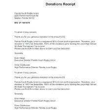 charitable contribution receipt letter tax receipt for donation goodwill tax exempt donation receipt letter