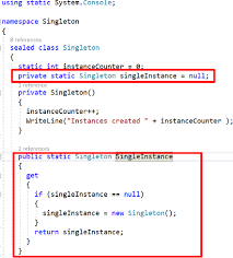 Singleton Pattern C Interesting Singleton Design Pattern In C Part 48 CodeProject