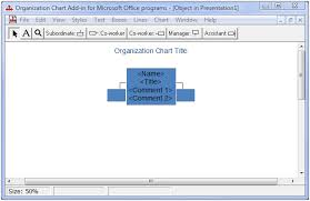 Microsoft Organization Chart Organization Chart Add In For Microsoft Office Programs Herb Tyson