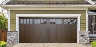 top garage door color walnut brown an door