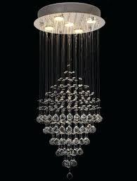 clear chandelier