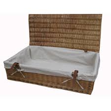 ... Buy Wicker Underbed Storage Baskets Online From The Basket Company  Within Under Bed Basket Storage ...