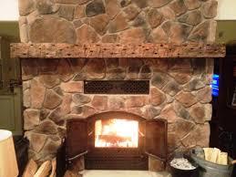 diy rustic fireplace mantels ideas