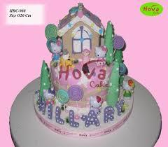 Birthday Cake Hello Kitty Pesan Hello Kitty Simple Looks Cute