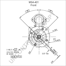 Ms4 401 front dim drawing