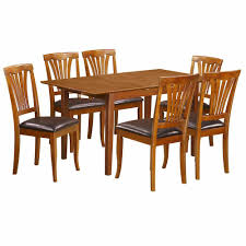 Table With Glass Top Cherner Dining Table Navy Blue Kitchen Chairs