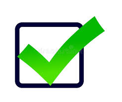 Green Check Mark Icon On A White Background. Stock Photo - Illustration of  positive, checkbox: 110075104
