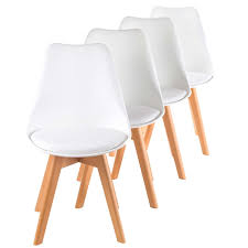 dining chair design. MY SIT Design Retro Dining Chair Set Of 4 - ZURA In White