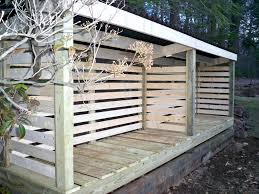 firewood rack plans metal storage holder indoor diy with roof splendid covered