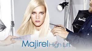 Majirel High Lift Shade Chart