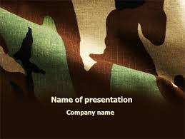 Camouflage Powerpoint Templates And Backgrounds For Your
