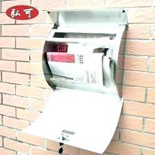 locking residential mailboxes. Large Locking Mailbox Rural Mailboxes Office With Locks  Outside Full Image For Stainless Steel Extra Residential Locking Residential Mailboxes
