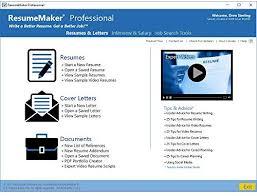 Video Resume Tips Resumemaker Professional Deluxe 20 Amazon Com Au Software