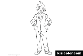 Coloring Pages Disney Pdf For Girls Online Adults My Hero Academia