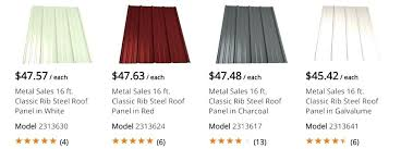roofing metal home depot corrugated