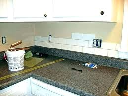 quartz with grey white kitchen cabinet glass subway tile colored colors g gray grout