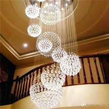 long modern chandelier chandeliers modern chandelier large crystal light fixture for lobby staircase stairs foyer long