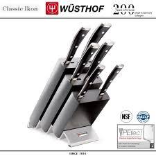 Набор кухонных <b>ножей</b> 9876 WUS, 6 предметов на <b>подставке</b> ...