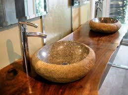 design basin bathroom sink vanities: vessel sinks dbcr double stone vanities sxjpgrendhgtvcom vessel sinks