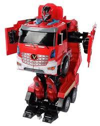 Купить Робот-<b>трансформер Jia Qi</b> Troopers Velocity Пожарная ...