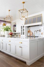Grey And White Kitchen Kitchen Details Paint Hardware Floor House And Home