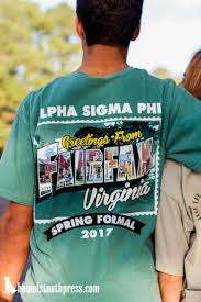 Cool Frat Shirt Designs Alpha Sigma Phi Spring Formal Alpha Shirt Sorority Shirts