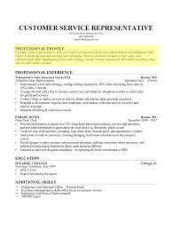 Profile Examples For Resume Therpgmovie
